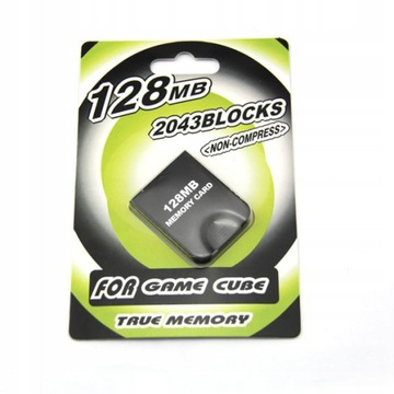 128MB pamäťová karta - GameCube Hry na konzole Wii