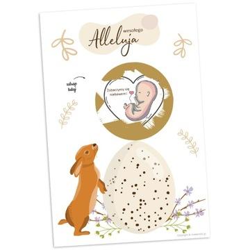 Karty škrabance - budete starý otec tehotenstva Veľká noc