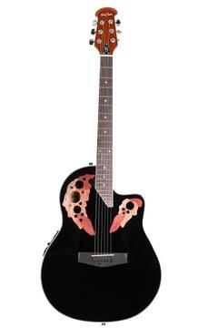 Guitar E-Acoustic Harley Benton HBO-850BK