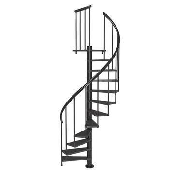 Dolle CALGARY 140 antracit, točité schody