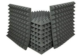 Akustické panely Pyramída Akustická pena 10x