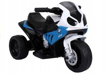 Batériový motocykel BMW S1000RR - modrý