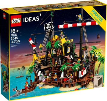 Lego Myšlienky Piráti z Bay Barakud 21322