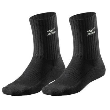 Mizuno sedí ponožky čierna stredná R. 41-43