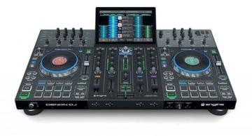 Denon DJ Prime 4 Console Mixer pre DJ Regulátor
