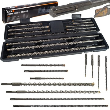 SDS PLUS DRILL SET 11 ks (33606)