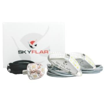 Navigačné lampy Safestrobes Skyflar Motolotnia