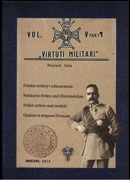 Poľské objednávky a dekorácie-Tomv Virtuti Militari