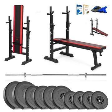 Xylo Gym 46 kg Bench Set + GRYF + LOAD