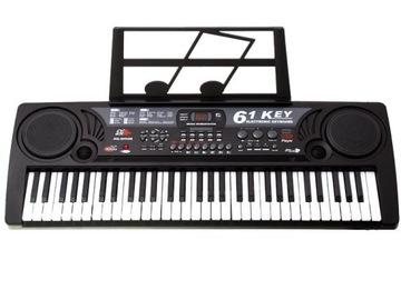 Veľká klávesnica MP3 Synthesizer 61 Klave