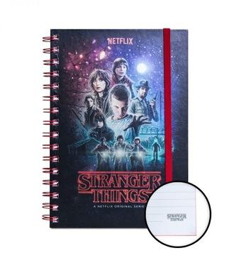 Stranger Things - Poznámky A5 Notebook 120 karty