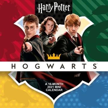 Mini stenový kalendár 2021 Harry Potter