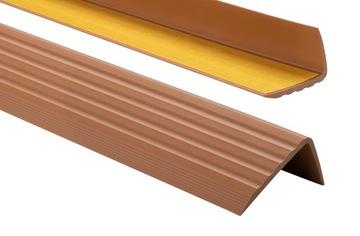 Protišmykový schodiskový profil 41x25 1,10m J. Bronz