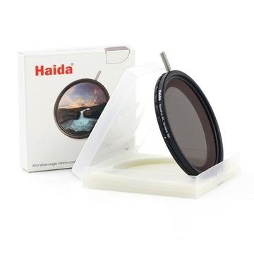 Šedá skladaná HAIDA 67mm Variabilná Nanopro