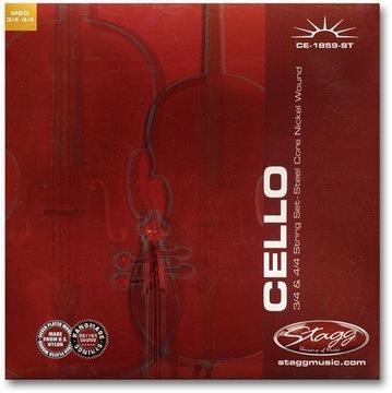 Stagg CE-1859-St - Cello reťazce 3/4 a 4/4
