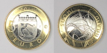 3122. Fínsko, 5 Euro, 2011 Savonia St.1-