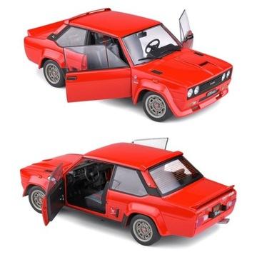 Fiat 131 Abarth - Red - 1980 Solid 1:18 NOVINKA!