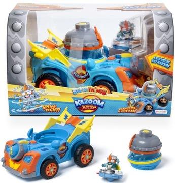 Super Zings veci Kazoom Racer Vozidlo + Kid Kazoom