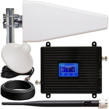 Signál Zosilňovač GSM 3G 4G LTE + 3 Antény