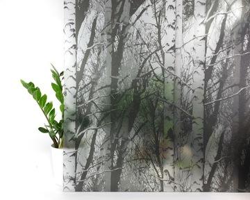 Statická okenná fólia vitráže Forest 67X150 G77