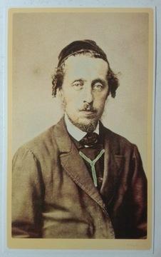 Postcard Portrét Žida I. Krieger 1860 dotlač SPK