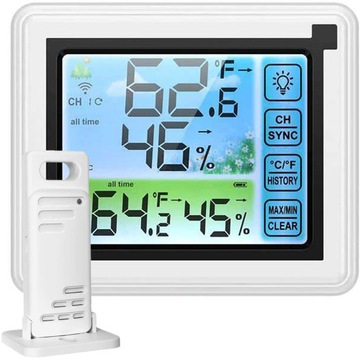 Bezdrôtová meteorologická stanica Hygrometer + senzor