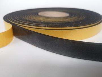 4mm čierne tesnenie EPDM 10mm / 10m