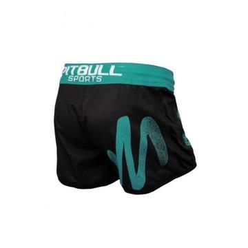 Pitbull Grappling Shorts Zigzak Blue S Predaj