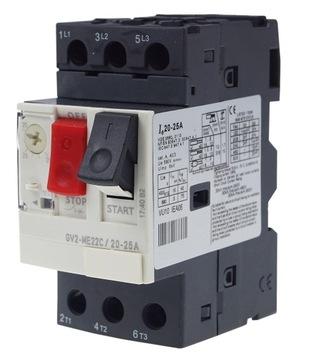 Prepínač motora Termik pre GV2-ME06 Rail 1-1,6