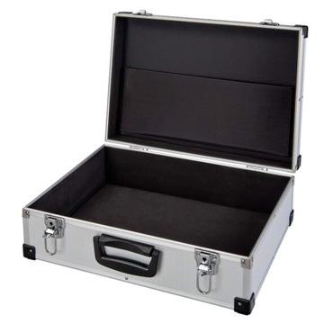 Veľký kufor hliníkový prípad puzdro DJ