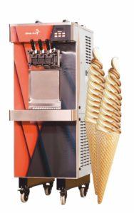 Strojový stroj pre zmrzlinu Śwideki 3 roky záruka