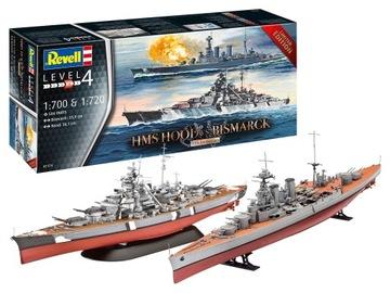 HMS HOUP + BISMARCK REVELLU 05174 v 1/700 a 1/720