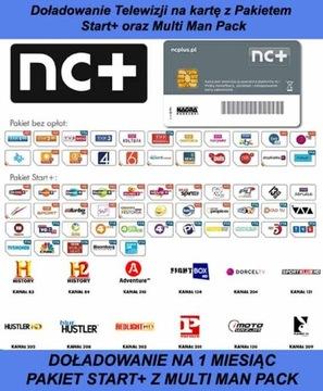 Domáce. NC + TNK START + KARTY S MULTI MAN BAGE NA 1M