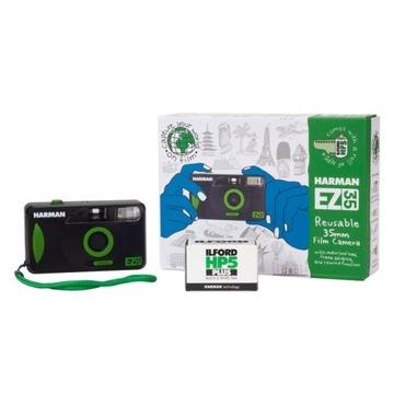 Kompaktná kamera HARMAN EZ 35 + ILFORD HP5