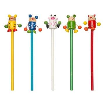 Ceruzka pre deti. Detské zvieratá. Zmiešajte farby