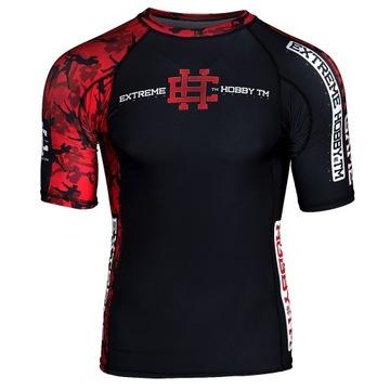 Extrémne hobby tričko pre MMA RED WARRIOR S