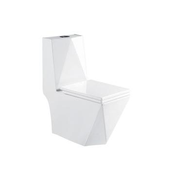 WC Compact White Rimless Willter Slim Board