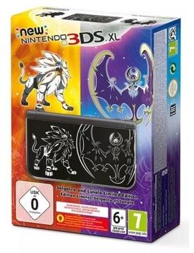 Nový Nový Nintendo 3DS XL SOLGALEO & LUNALA