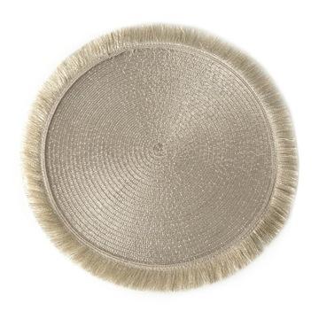 Opletená podložka na okrajovej podložke pod tanierom