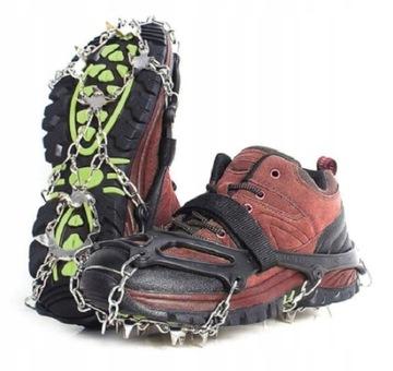 Topánky pre obuv R.38-44 Reťaze 19 Zuby + čelenka CZ
