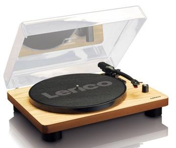 Gramophone LENCO LS-50 USB AUX 2 X Drevo Reproduktory