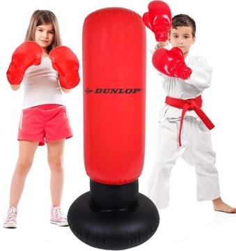 Nafukovacie boxerské vrecko školenia stojace Dunlop