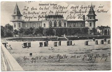Gdańsk Brzeźno - Danzig Brosen - Ostseebad