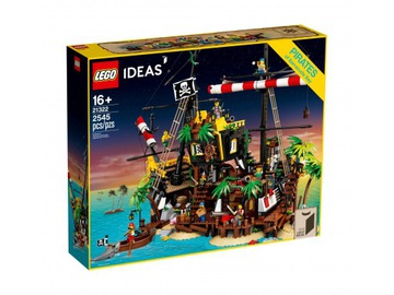 LEGO IDEAS 21322 Zátoka Piráti z Barracudy