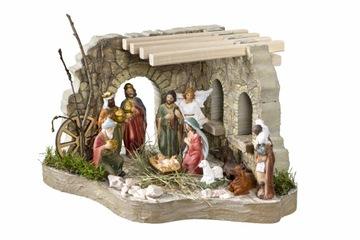 Vianočný betlehemský model s figúrkami