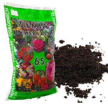 Univerzálna zemina pre zeleninu a kvety 65L hnojiva