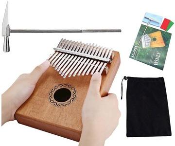 Kalimba Africký nástroj Piano Zanza MBIRA