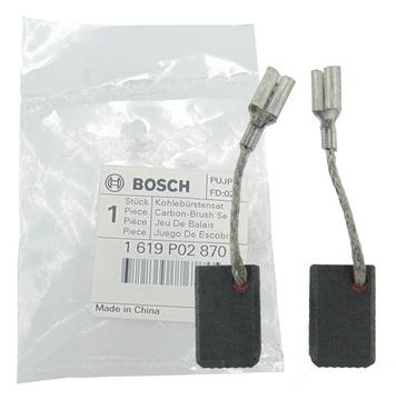 Bosch uhlíkové kefy GWS 7-125 7-115 Originál