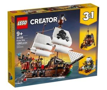 Pirátska loď LEGO Bricks Creator