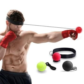 3x Reflexná lopta FIGHT REFLEX BALL Reflexná lopta